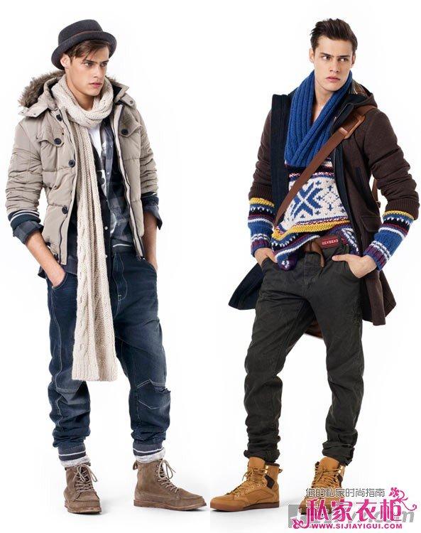 2014春季流行男装_男生冬季服装搭配| 旅游时尚图片