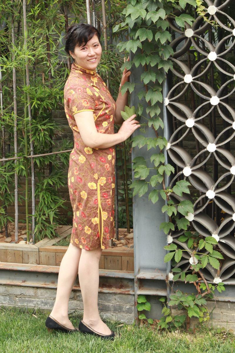 穿旗袍的美女| 旅游时尚
