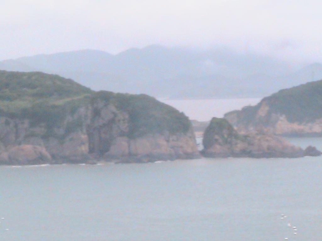 舟山桃花岛风光  夕阳红