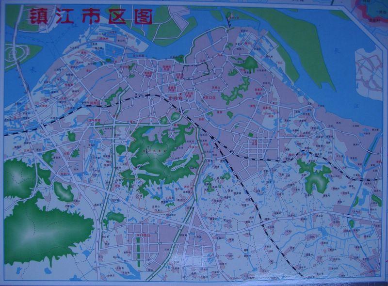 2007版镇江地图