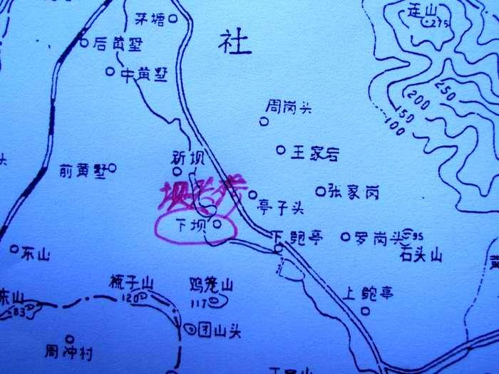 句容古桥分布地图